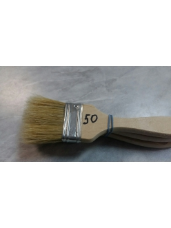 Кисть щетина плоская №50